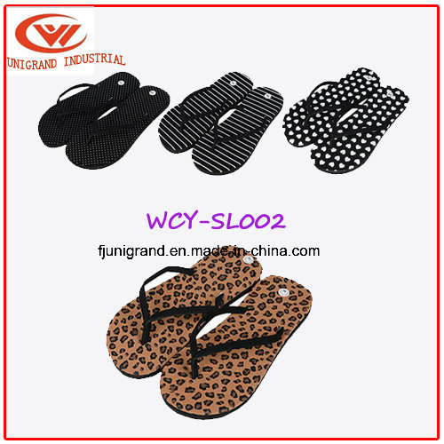 Summer Fashion EVA Slipper Confortable Ladies Beach Flip Flops for Women