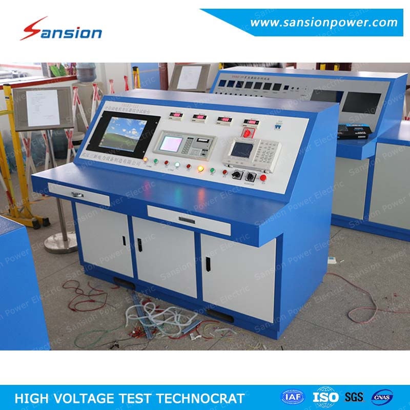 Automatic Transformer Test Bench with Load No Load Test