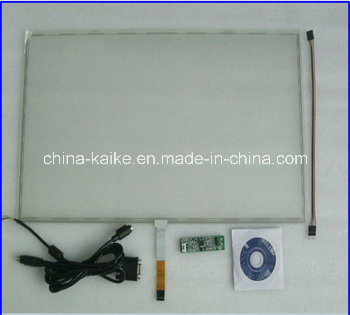 Low Cost 15 Inch 4 Wire Resistive Touch Screen with Kit