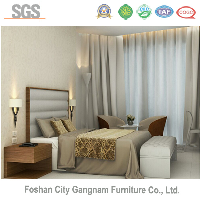 Stars Chinese Hotel Furniture / Bedroom Wooden Furniture