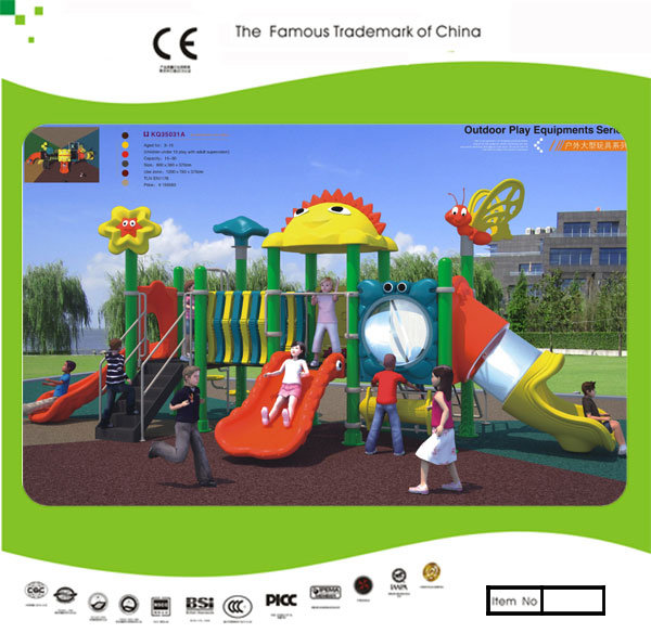 Kaiqi Small High Quality Children′s Outdoor Playground - Available in Many Colours (KQ35031A)