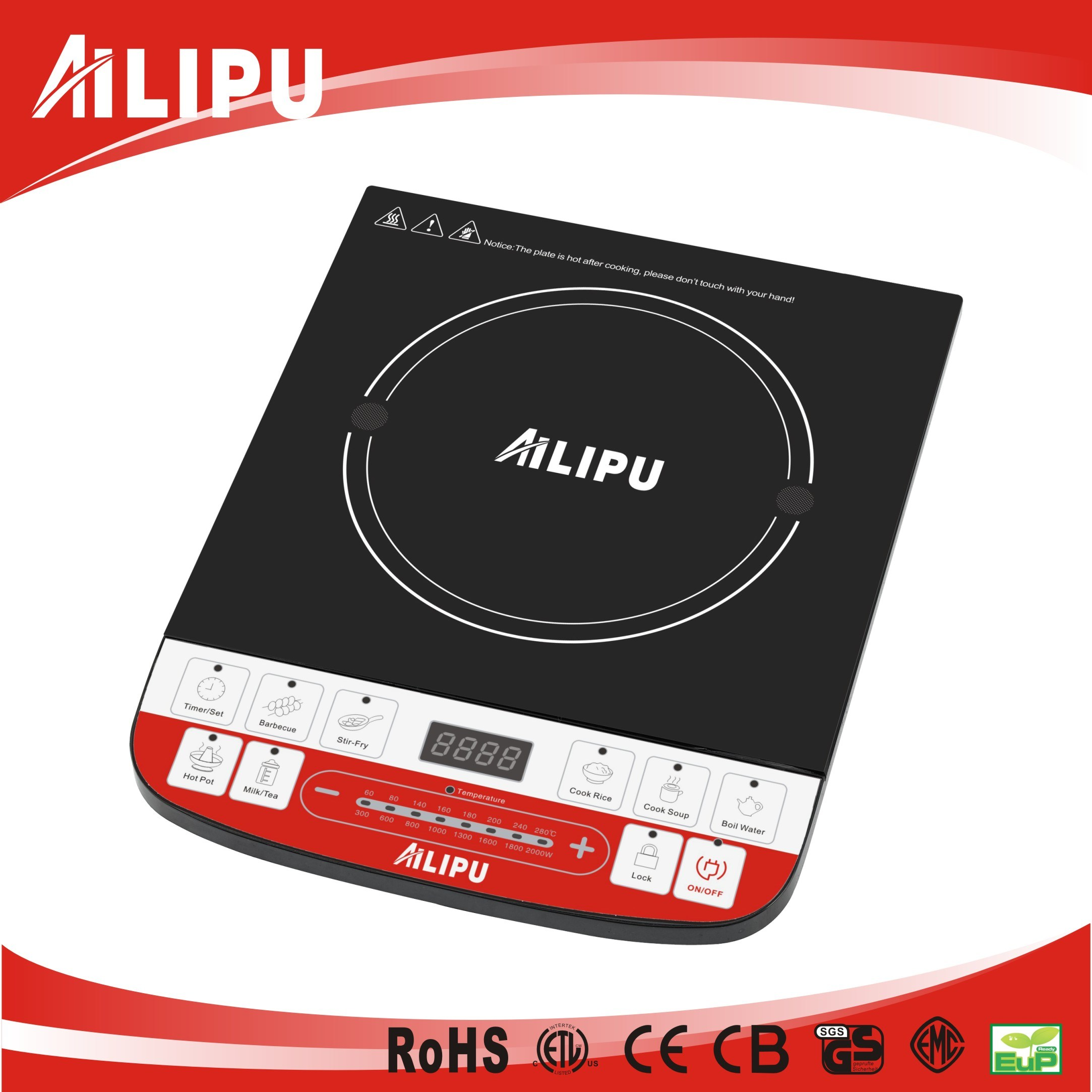 China Counter Top Induction Cooker Model Sm A60 Kitchenware Simple Heater Circuit Hot Plate Home Appliance