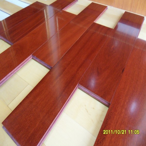 Brazil Teak Solid Wooden Flooring