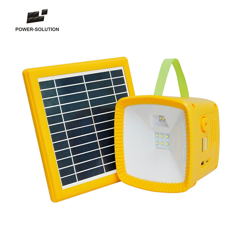 Hot Item Low Cost Led Solar Light With Radio Mobile Phone Charger Lantern