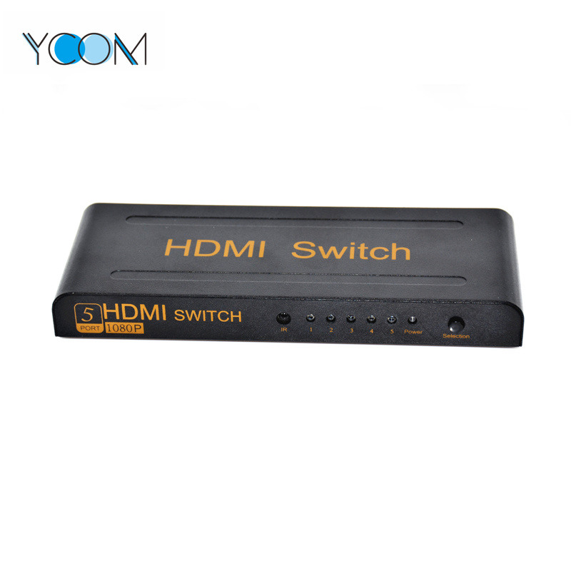 YCOM 5 Ports HDMI Switch 1080P Support 3D pictures & photos