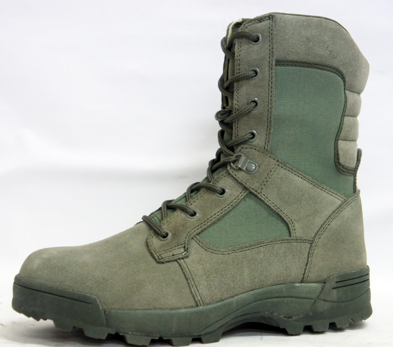 China Green Leather Winter Mens