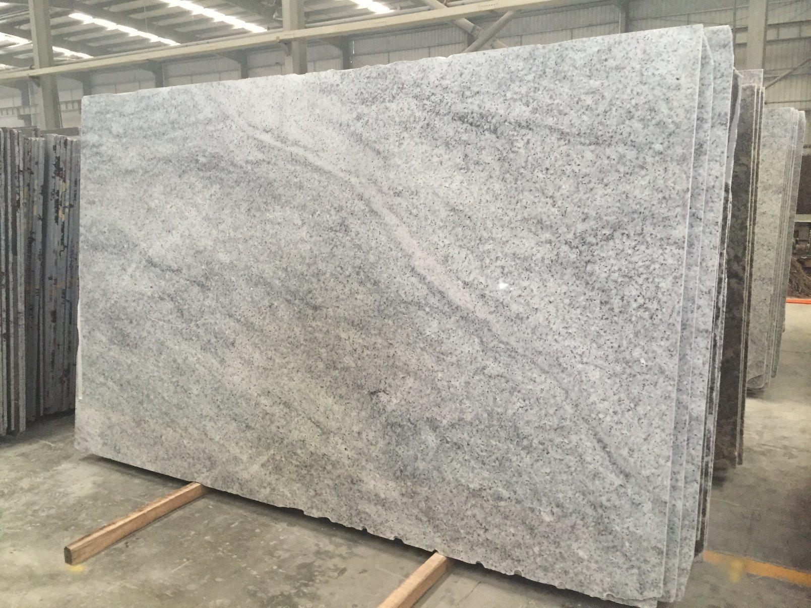China Natural Stone Floor Wall Tiles Swan White Granite China Polished Surface Honed Surface