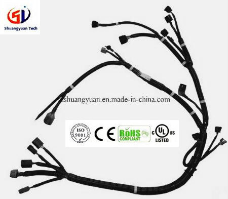 china wiring harness for auto accessories china wiring harness rh szshuangyuan en made in china com  wiring harness board accessories