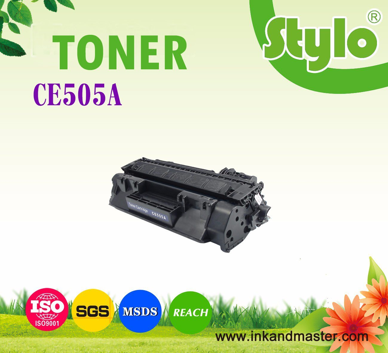 Ce505A Toner Cartridge for HP Laserjet Printer