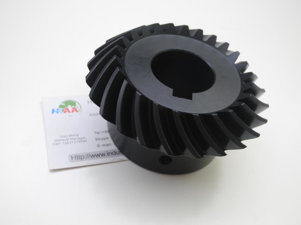 Hardened Steel Motorcycle Transmission Steering Bevel Gear