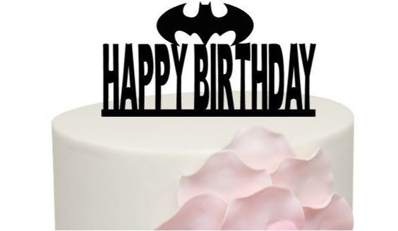 Cool China Happy Birthday Acrylic Cake Toper Batman Cake Topper China Personalised Birthday Cards Paralily Jamesorg