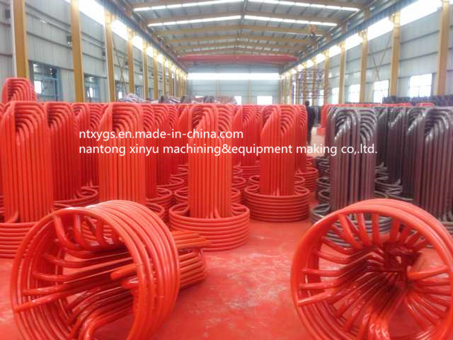 Factory Outlet Red Round Base Steel Wire Carrier