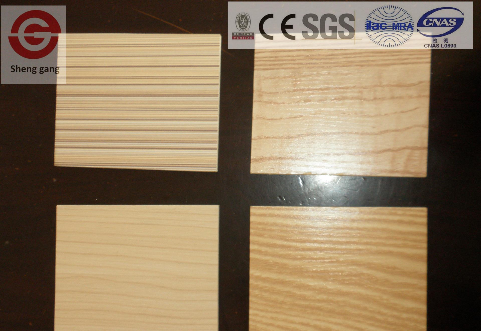 China Wood Grains High Pressure Laminated Fireproof Decorative MGO ...