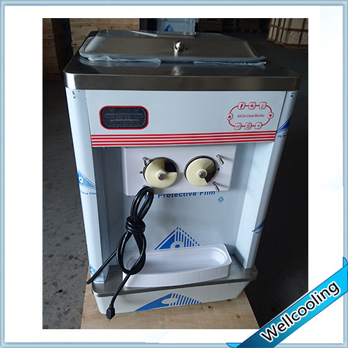 Table Model Ice Cream Machine with Pre-Cooling System