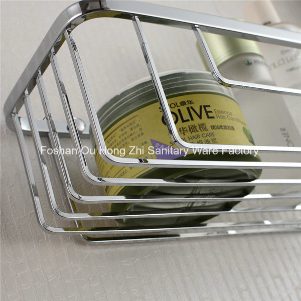 Corner Stainless Steel Bathroom Accessories Net Storage Rack Shelf pictures & photos