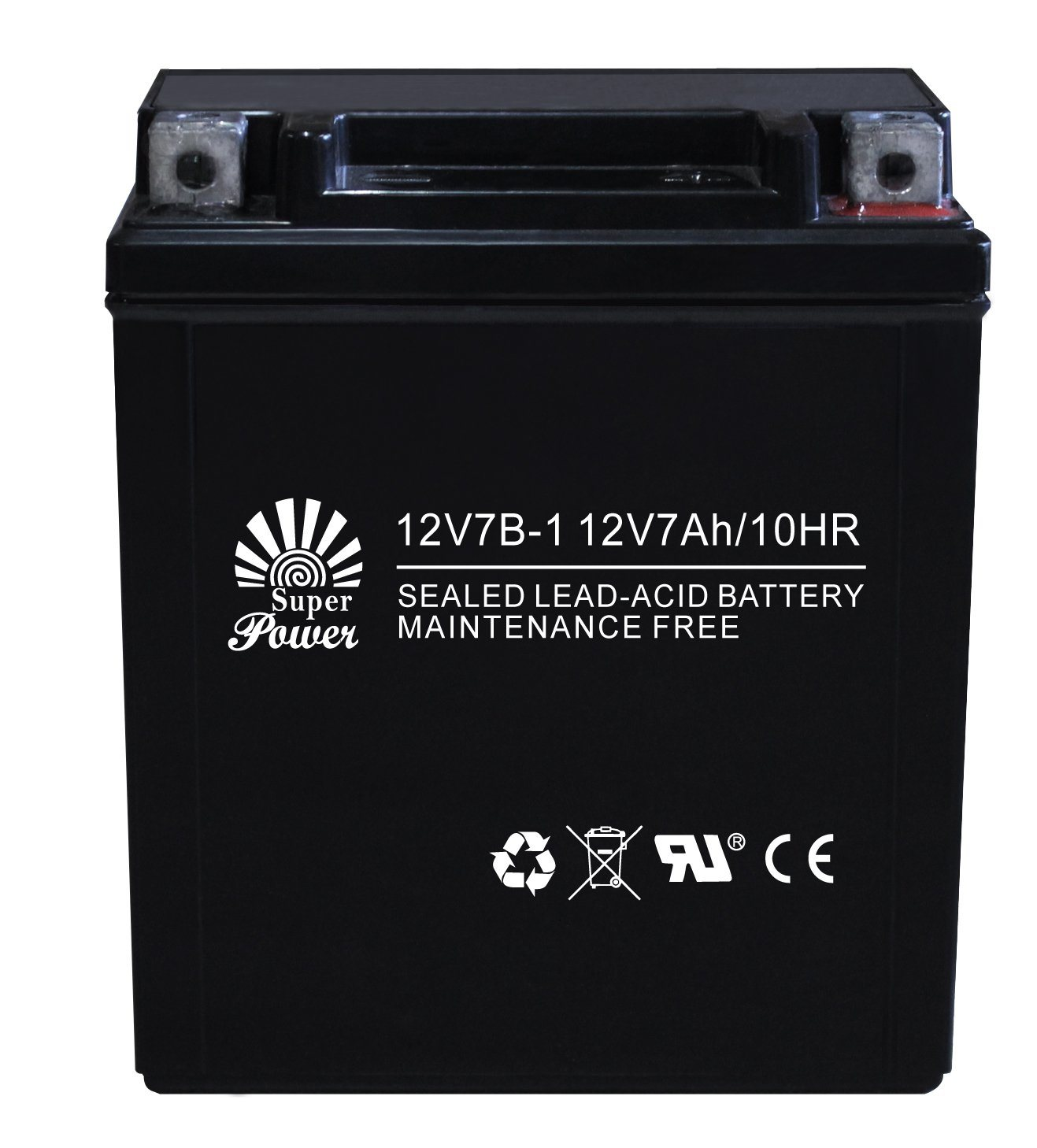 Motorcycle Battery 12V 7ah with CE UL Certificate Called 12V7b