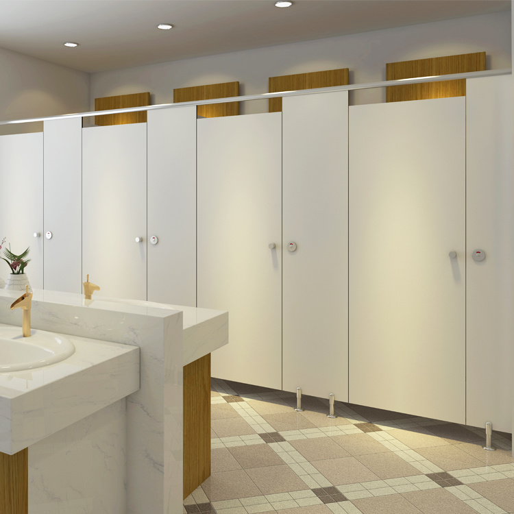 Exceptionnel HPL Board Used Bathroom Partitions School Design