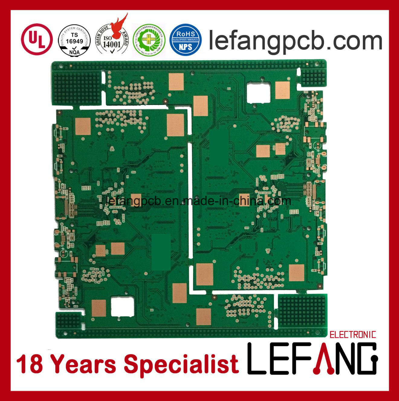 China Multilayer 6 Layers Osp Pcb Circuit Board Assembly Photos Low Cost Fabrication