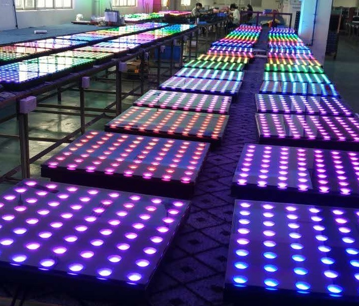 Wedding Disco Colorful Digital Portable Used LED Dance Floor for Sale