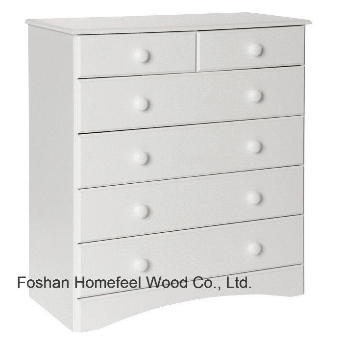6 Drawer Storage Cabinet Hc24, White Storage Cabinet With Drawers