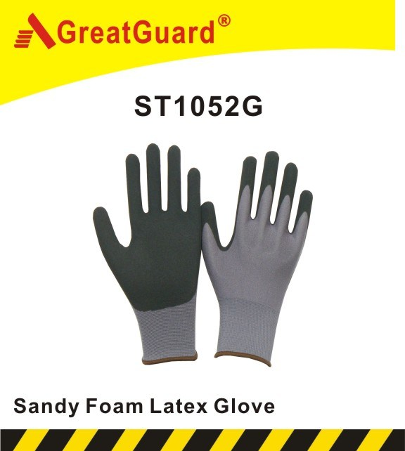 Sandy Foam Latex Glove (ST1052HVY)