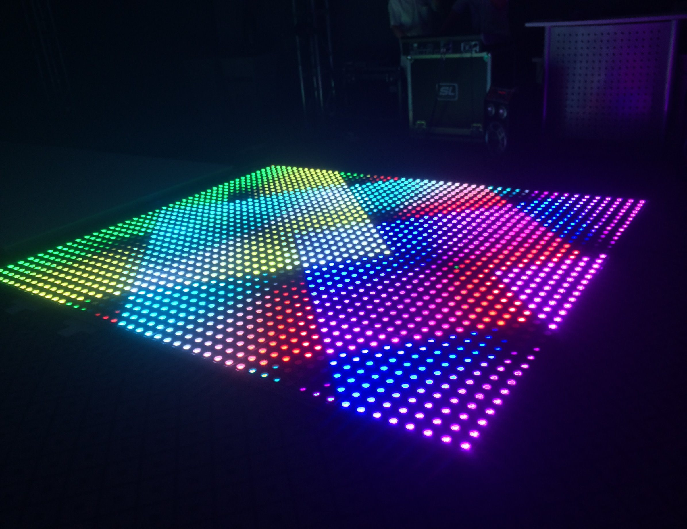 China Wedding Disco Colorful Digital Portable Used LED Dance Floor for Sale - China LED Dance Floor, Dance Floor