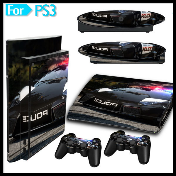 [Hot Item] Sticker Skin for PS3 Super Slim Video Game Console and Wireless  Controller