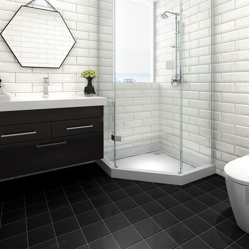 China Bathroom Floor 200x200mm Glazed, Is Glazed Ceramic Tile Good For Bathroom Floor