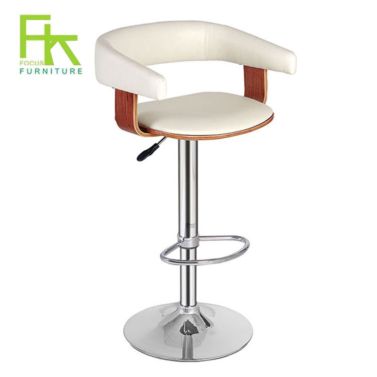 China Restaurant White Leather Wooden