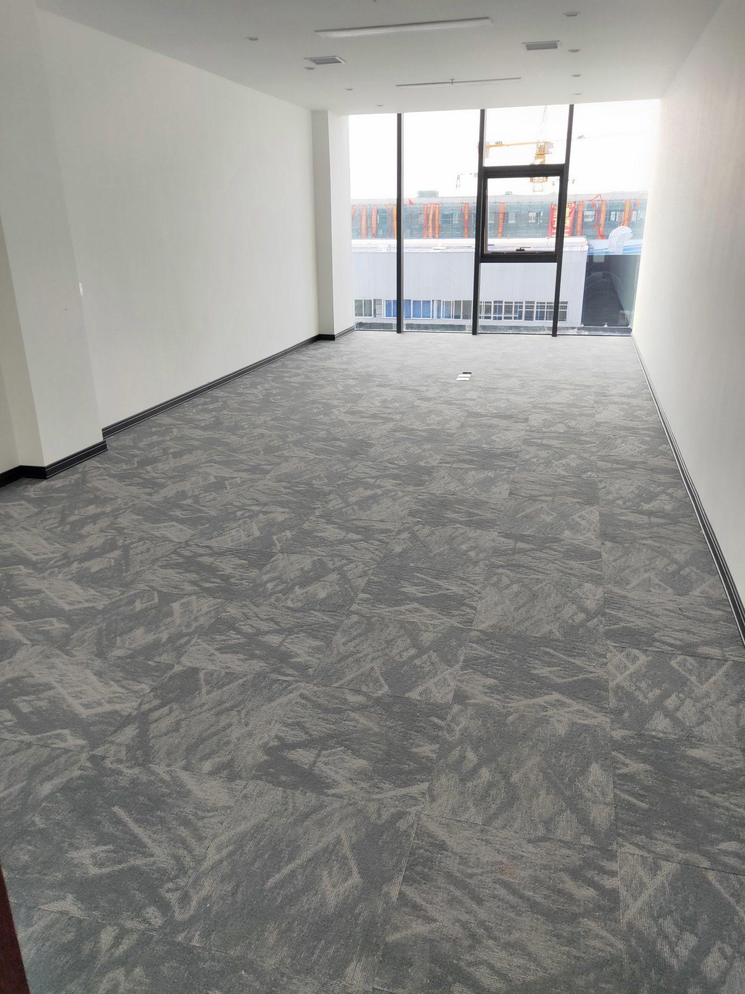 China Library Carpet Tile Pvc Backing