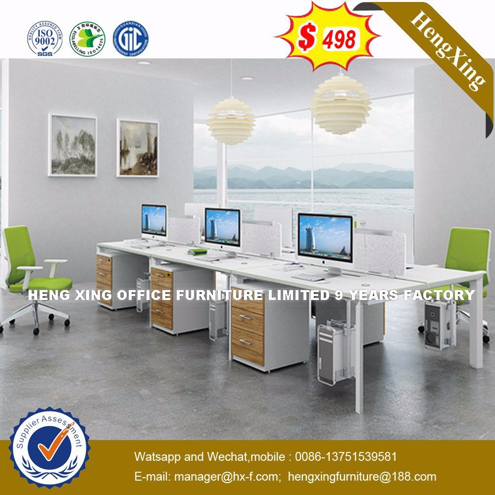 China Stock Lots Hutch Cabinets Maple Color Office Workstation Table Desk  (UL MFC564)   China Office Partition, Office Workstation