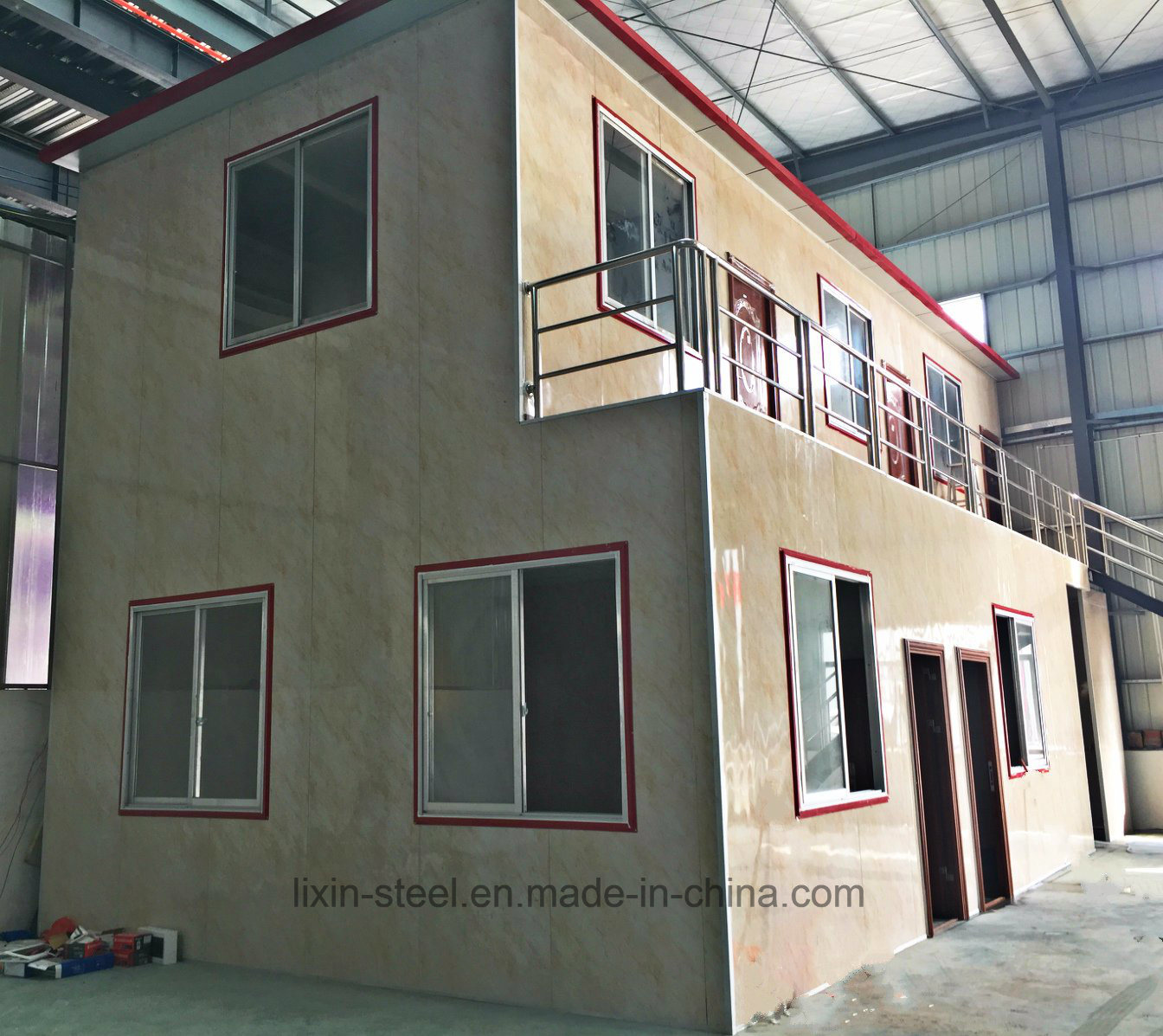 Fast Install Earth Quake Resistance Prefab Steel Structure Building