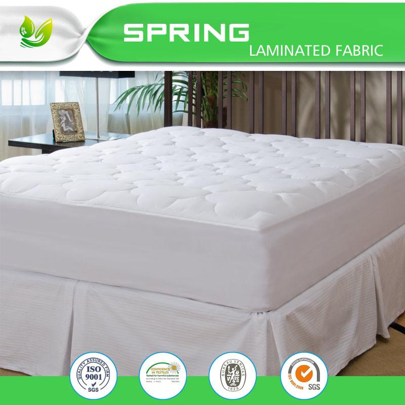Foam Pillow Top Mattress Pad Bugs Proof