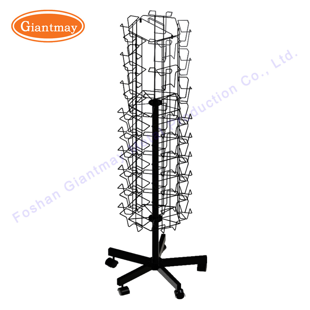 China Cheap Greeting Card Wholesale Rotating Free Standing Wire