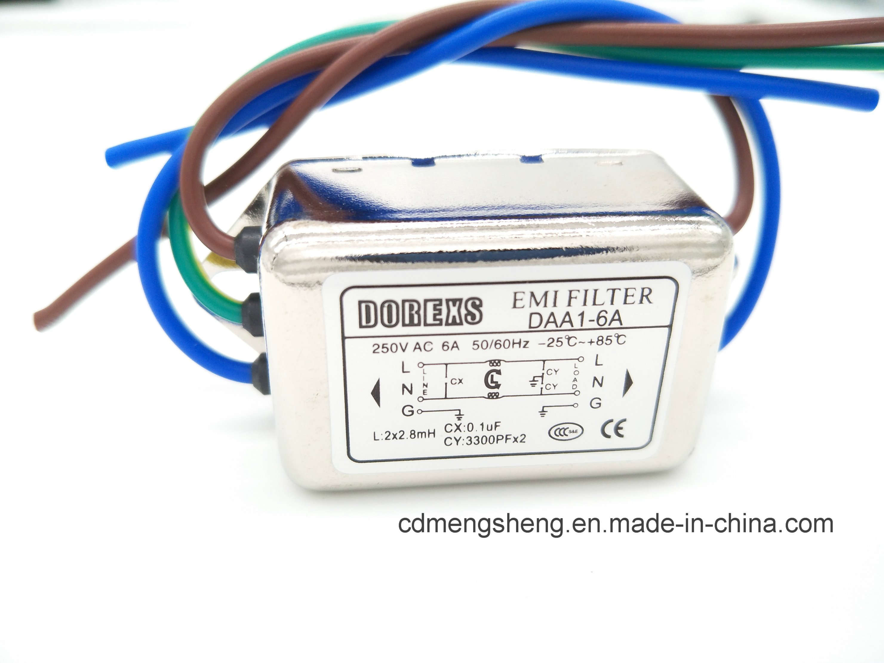 China Emi Filter Electrical Ac Noise Electronic Circuits