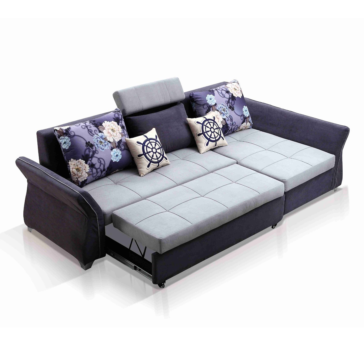 China L Shaped Sectional Sofa Cum Bed With Storage - China Fabric Sofa, L Shaped Sofa