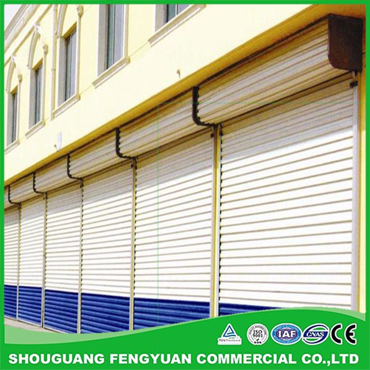 Hot Item Good Trusted Factory On Colorful Auto Rolling Shutters