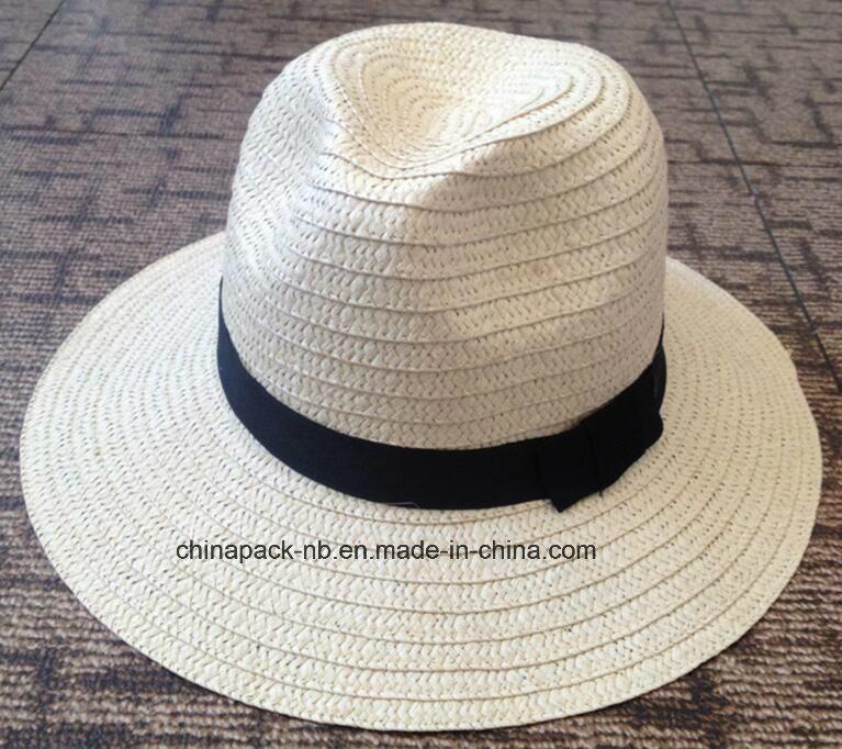 70e88031d [Hot Item] Foldable Panama Paper Straw Hats Caps (CPA_60017)
