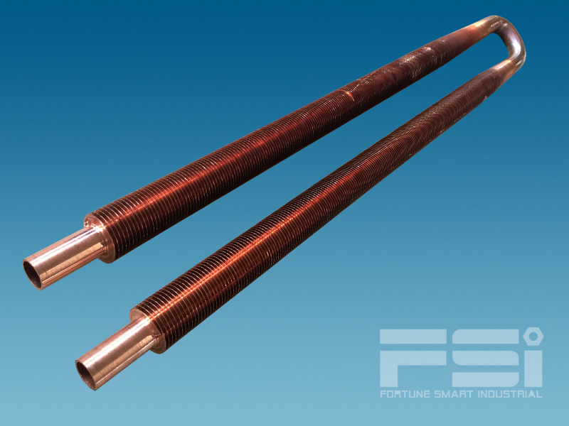 U Shape High Copper Finned Tubes