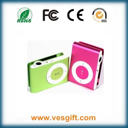New Top-Rated Gift Christmas Gift MP3 Player with Mini Clip