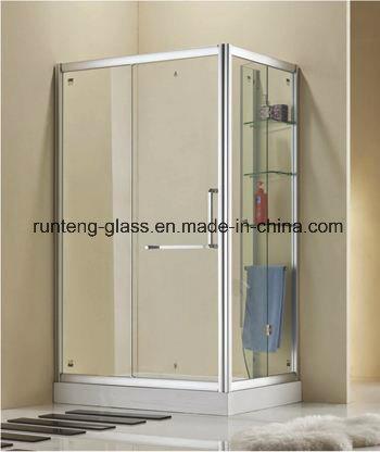 China 10mm Acid Etched Glass Door Frosted Glass Door Bathroom Door