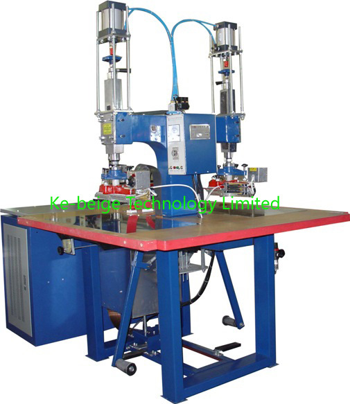 8000W Pneumatic High Frequency Welding Machine High Frequency Welder for Rainwear Welding