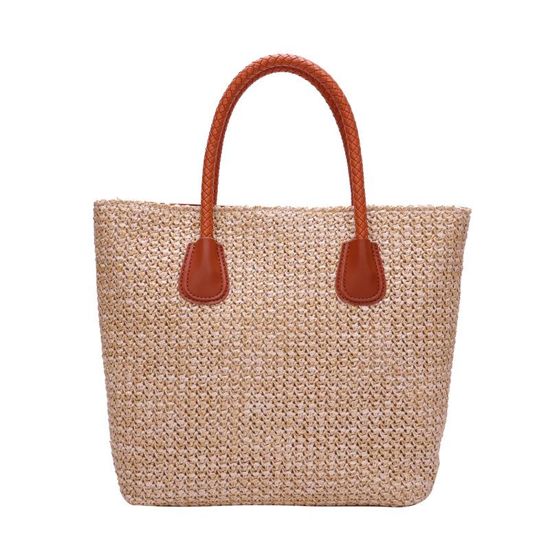 China Wholesale Straw Handbag Simple Beach Bag Single Shoulder Woven Bag -  China Lady Handbag 61221108b17b5