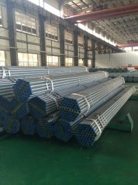 BS 1387 Q195 Welded Hot Dipped/Pre Galvanized Steel Gi Pipe pictures & photos