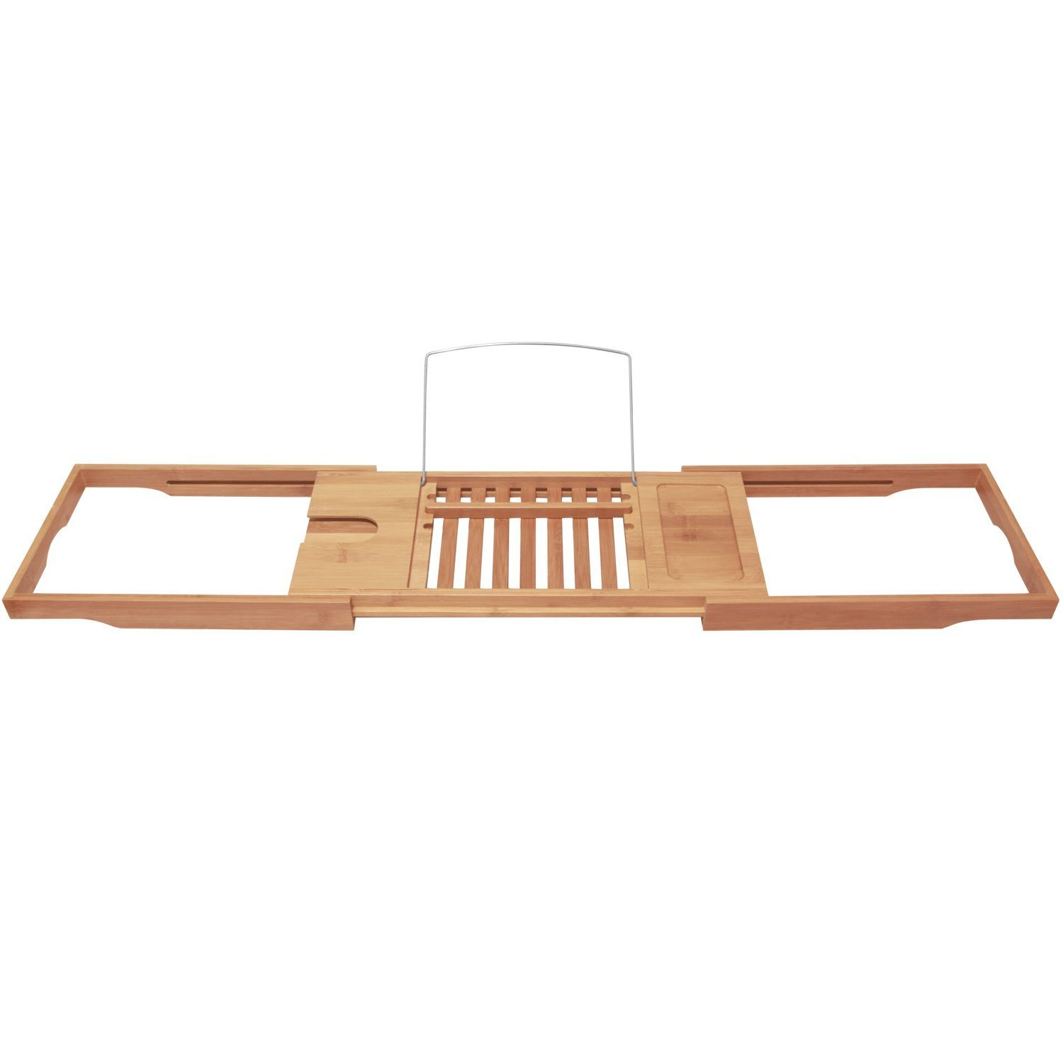China Waterproof Expandable Bamboo Bathtub Caddy (Natural, Eco ...
