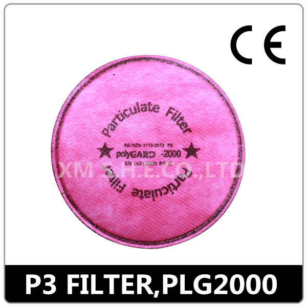 CE& AS/NZS Certified P3 Particulate Mask Filter (Polygard 2000)