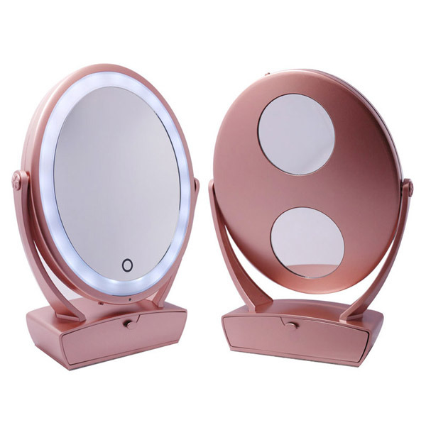 China Desktop Led Makeup Mirror With, Led Makeup Mirror Desktop