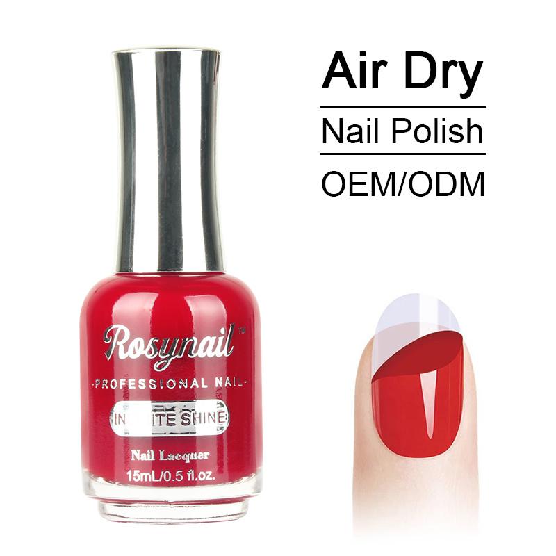China Non-Toxic Eco-Friendly Materials Air Dry Fast Nail Polish ...