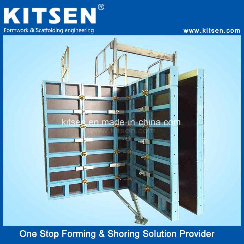 China High Strengh Aluminum Alloy Precast Concrete Wall