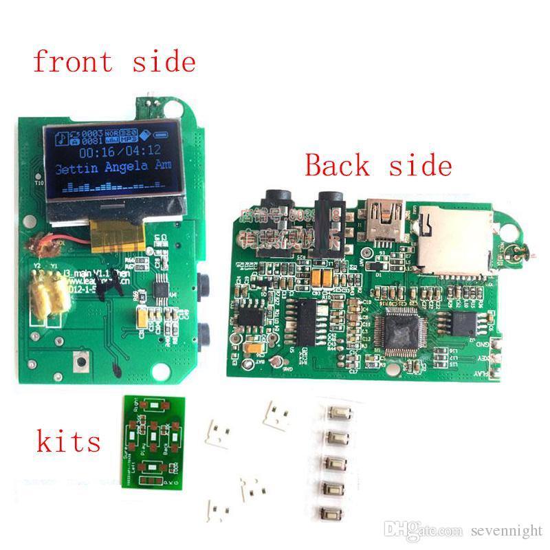 [Hot Item] Mini Portable FM Radio USB SD MP3 Player Kit Circuit Board PCB
